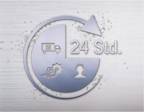 CNC Teilfertigung 24h-Service Koblenz