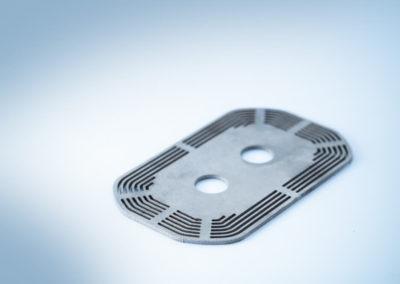 Gestützte Teilfertigung CNC